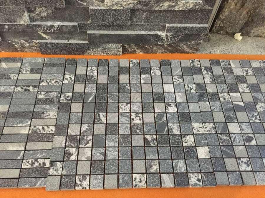 Virginia Mist Granite Mosaic