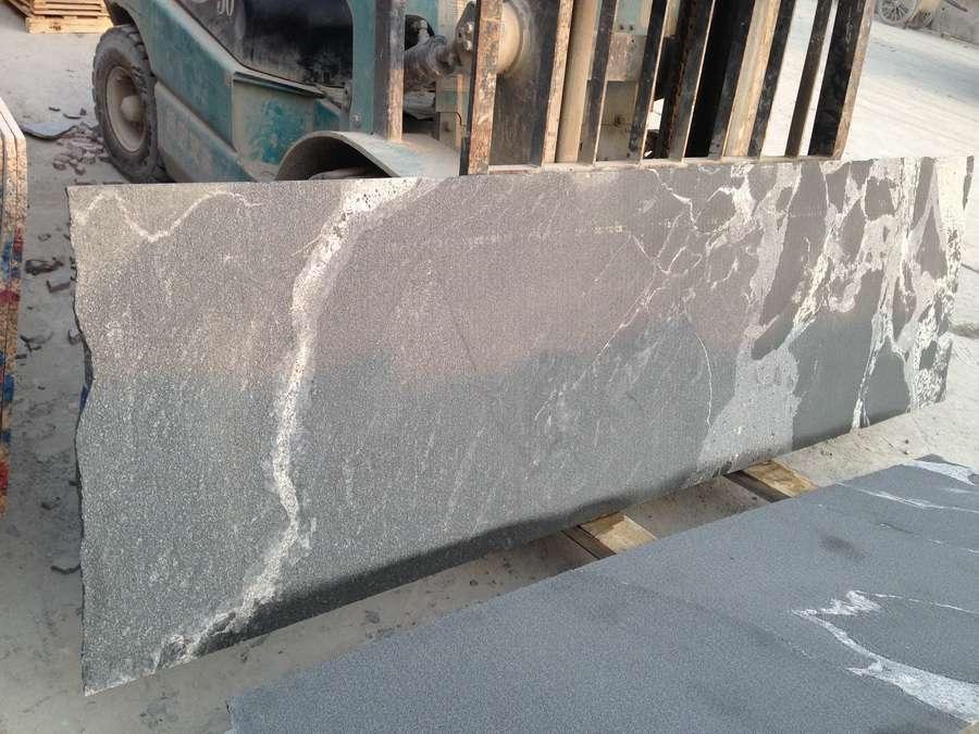 Processing Virginia Mist Granite