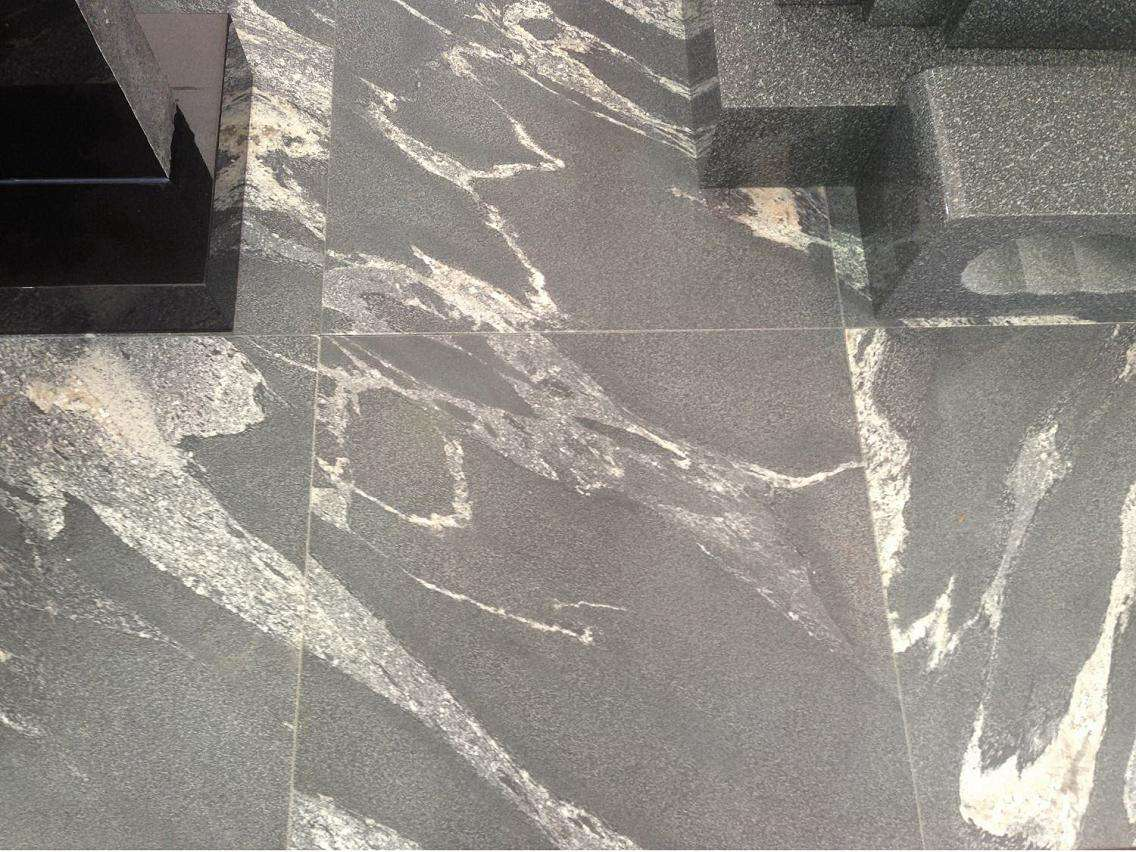 Virginia Mist Granite Leathered